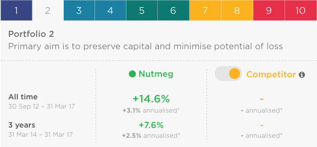 Nutmeg Portfolio Visual